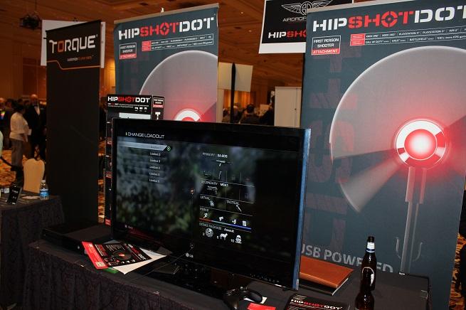 Tim Murphy designed the HipShot Dot.