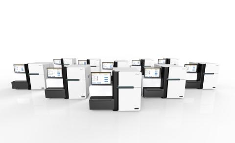 The HiSeq X sequencing machine