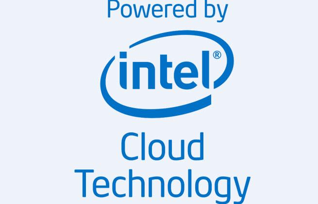 Intel's cloud transparency campaign logo.