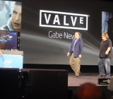 Intel's Brian Krzanich and Valve's Gabe Newell