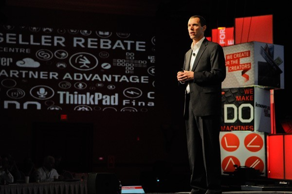 Jay Parker, Lenovo's North America President