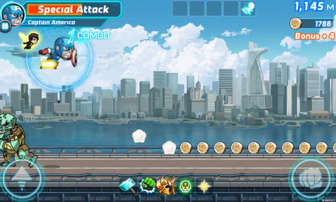 Marvel! Run Jump Smash!