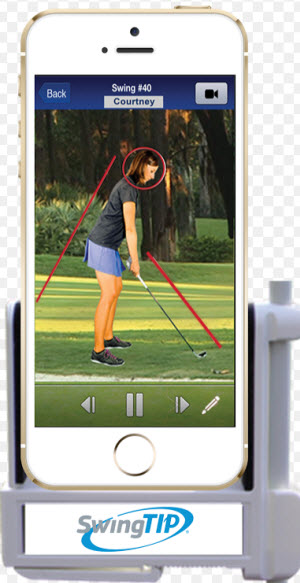 MobiCoach's SwingTip app