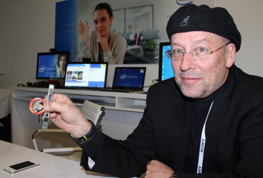 Mooly Eden leads Intel's perceptual computing project.