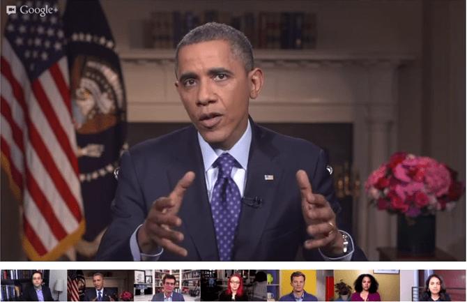 Obama Hangout Road Trip