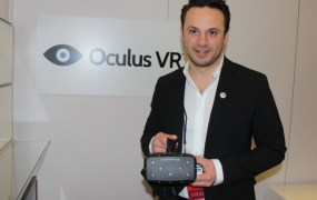 Oculus VR CEO Brendan Iribe at CES