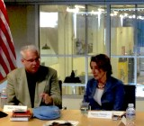 TechShop CEO Mark Hatch and Nancy Pelosi