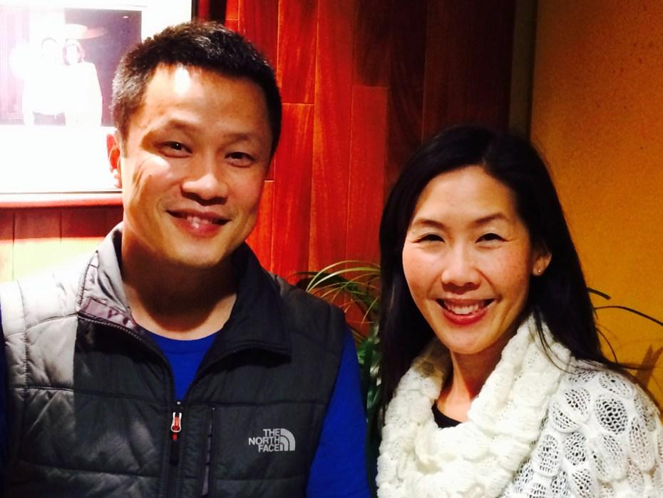 Glow's Mike Huang and Jennifer Tye