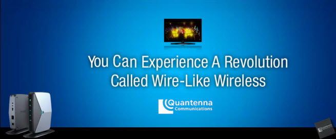 Quantenna promises WiFi as fast as wired data networks.