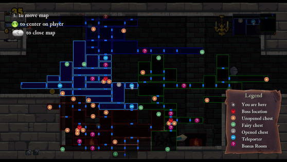 Rogue Legacy Map