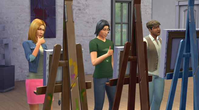The Sims 4 artists