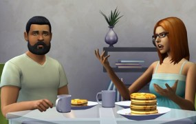 Scene from the Sims 4. What assumptions does it stir?