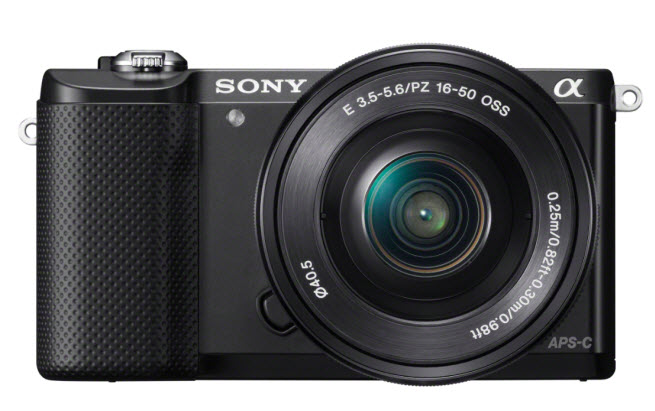 Sony Alpha 3000 camera with small body
