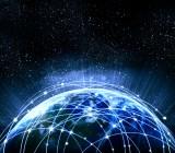 The Internet globe
