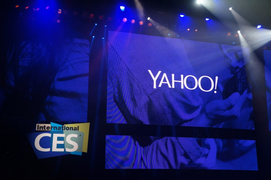 Yahoo CEO's keynote at CES 2014.