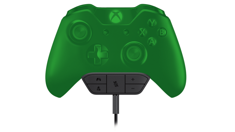 The Xbox One's Stereo Headset Adapter.