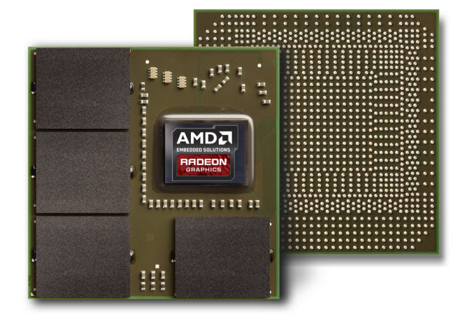 AMD's E8860 GPU