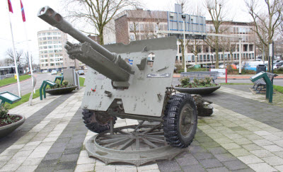 World War II monument in Arnhem, Netherlands.