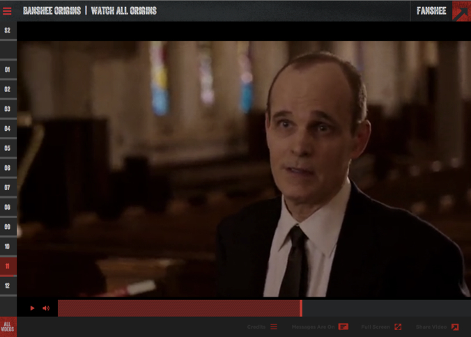 Rapt Media's technology powers Cinemax's Banshee website