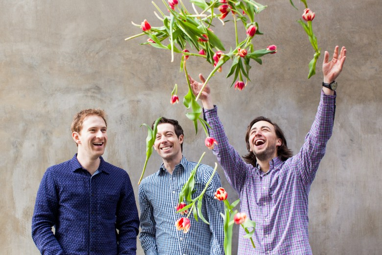 BloomThat's cofounders Matthew Schwab, David Bladow, and Chad Powell.
