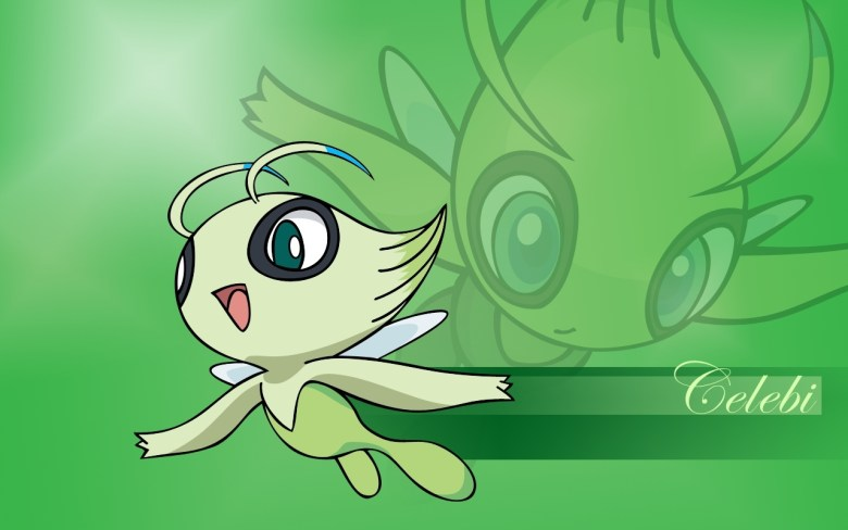 Get your Celebi now.