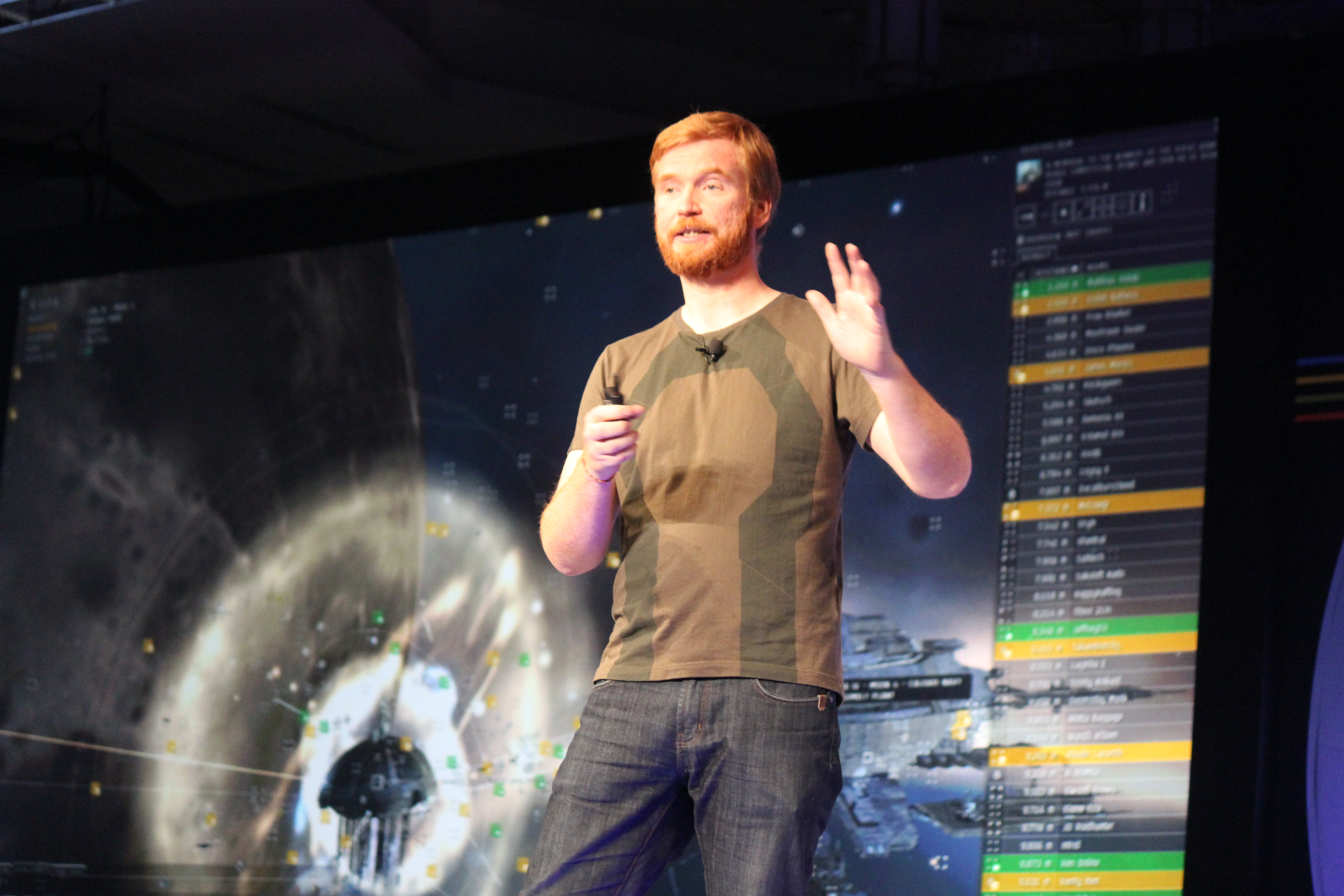 CCP Games chief Hilmar Veigar Petursson, one of the people behind Eve Online.