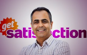 Get Satisfaction CEO and president Rahul Sachdev
