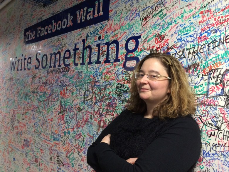 Facebook engineering director Jocelyn Goldfein at the company's NYC office