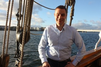 Everyplay chief executive Jussi Laakkonen is on a boat!