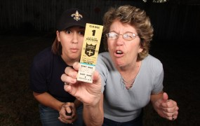 New Orleans Saints ticket Cordey Flickr