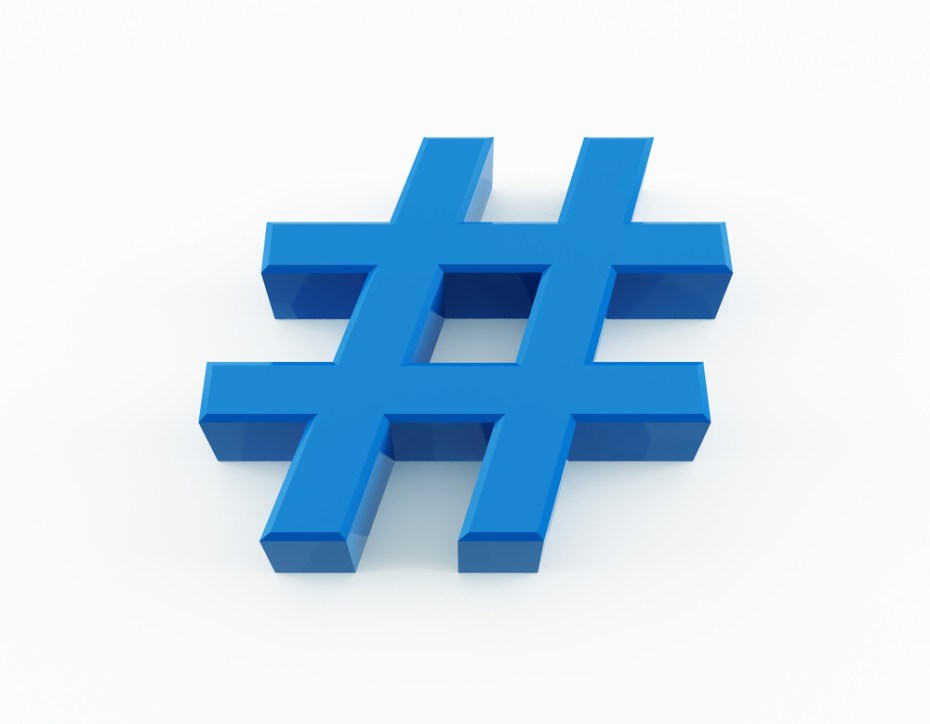 Pound sign hashtag number Mircea Maties shutterstock