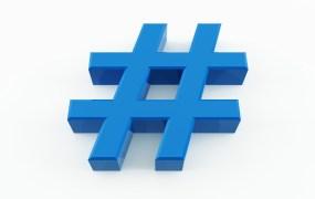 Pound sign hashtag number Mircea Maties shutterstock
