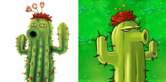 Plants vs. Zombies Garden Warfare Cactus