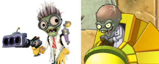 Plants vs. Zombies Garden Warfare Scientist