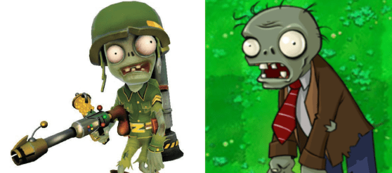 Plants vs. Zombies Garden Warfare Foot-soldier