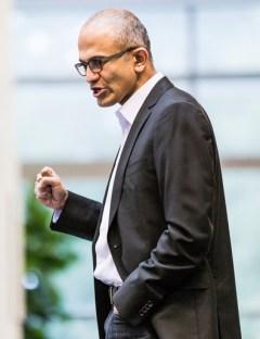Satya Nadella in Microsoft