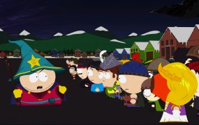 Eric Cartman rallies his troops (such as they are) in South Park: The Stick of Truth.