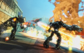 Transformers: Rise of the Dark Spark unites the Michael Bay movies and the Cybertron games.