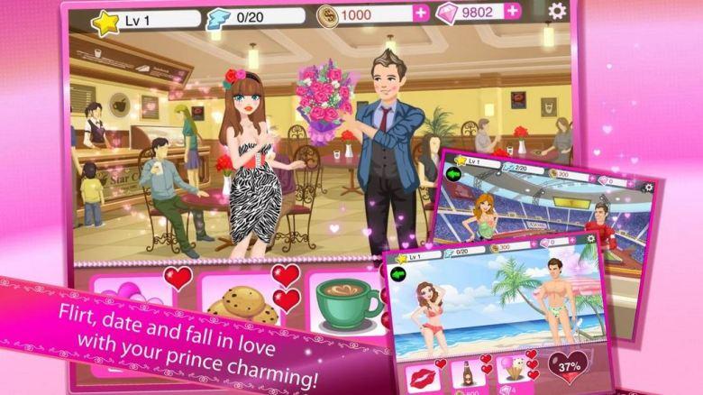 Star Girl: Valentine Hearts from Animoca.