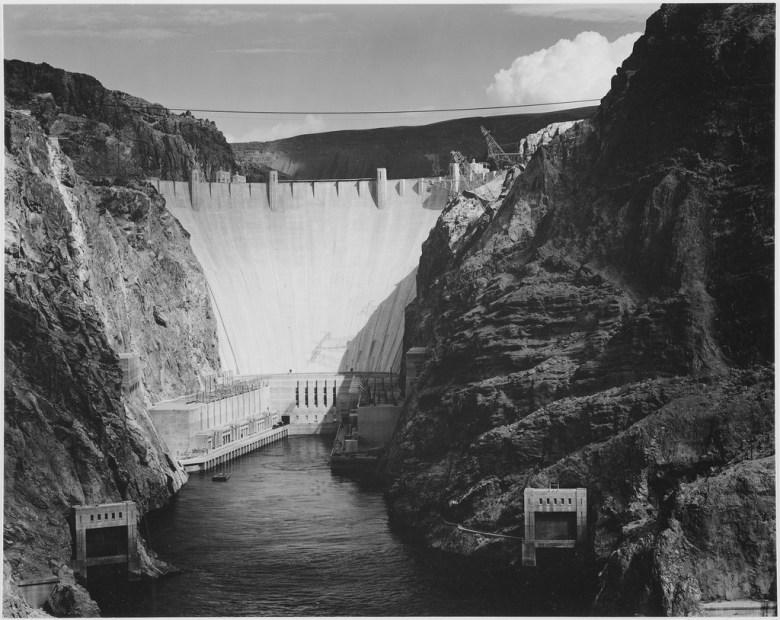 Boulder Dam, Colorado River, 1941