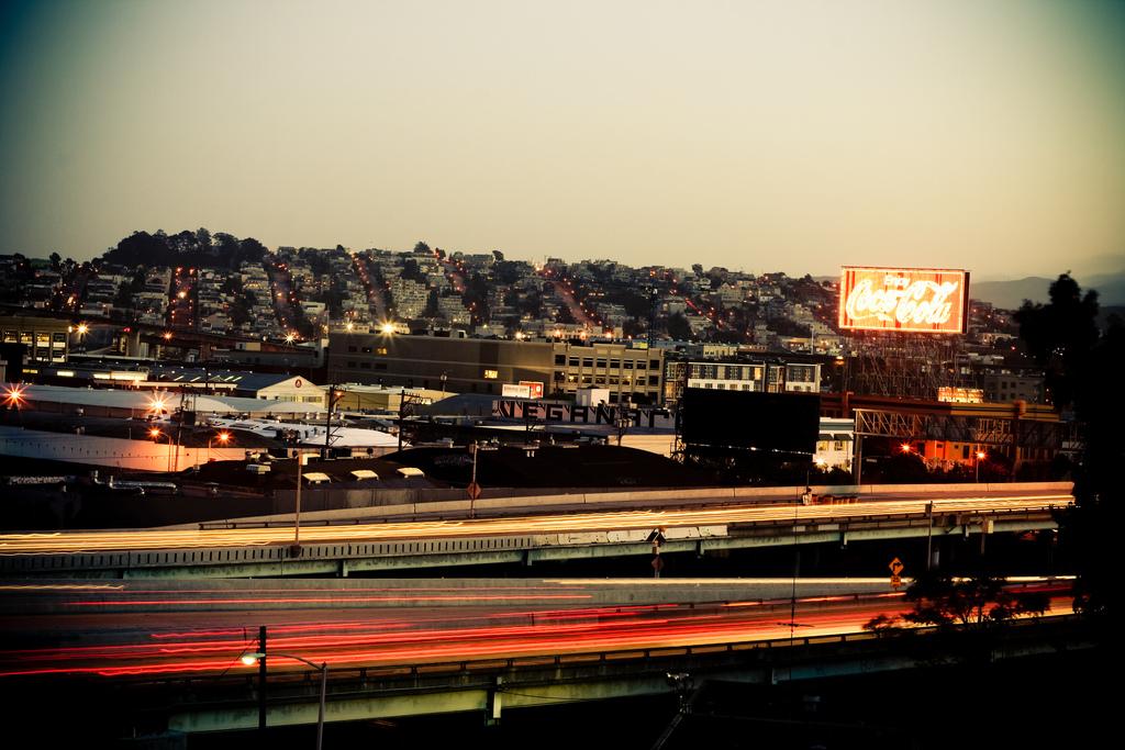 Cars highway San Francisco c1ssou Flickr