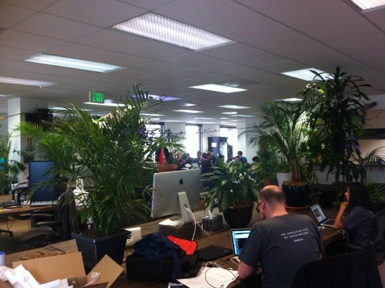 The Docker office in San Francisco.