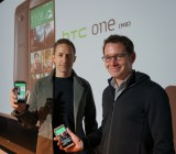 HTC associate VP of design Jonah Becker (left), and lead software designer Drew Bamford (right)