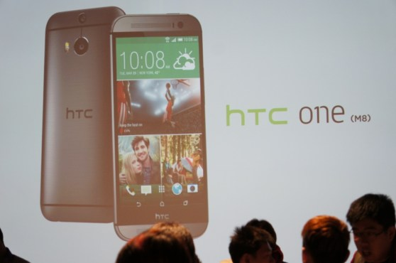 HTC One M8 launch 1