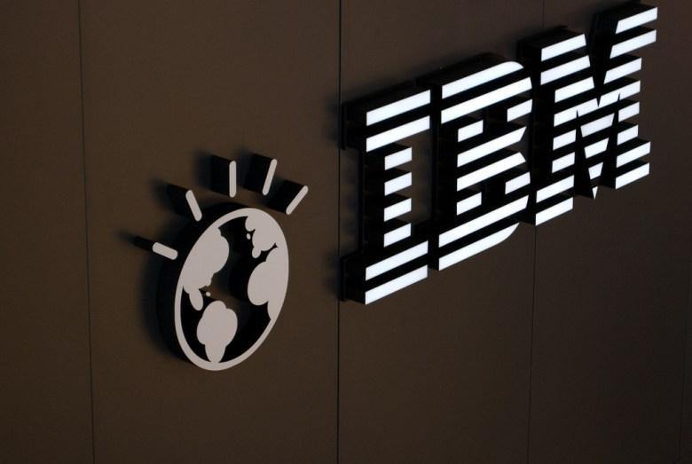 IBM logo Patrick Flickr