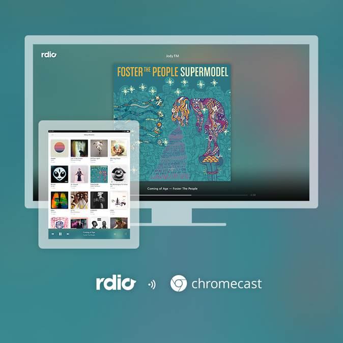 Rdio Chromecast