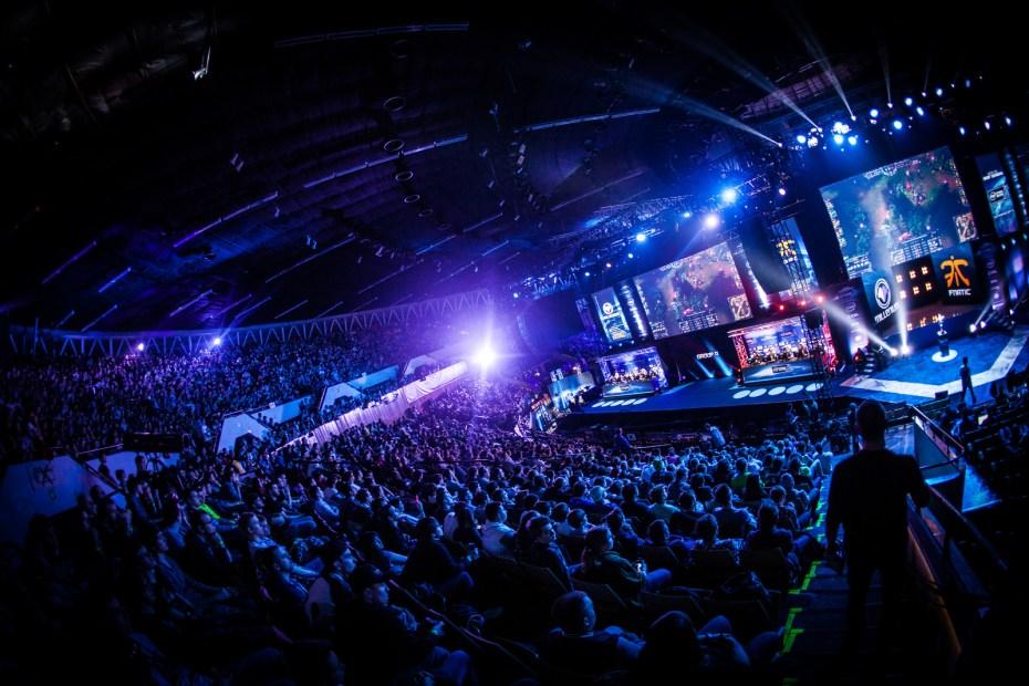 The Katowice ESL event in Poland.