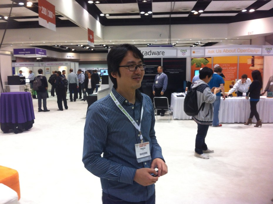 Ki-Hyuk Nam, founder and chief executive of Korean networking startup Friesty, at 2014 Open Networking Summit.