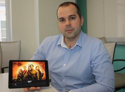 Kristoffer Waardahl of Crytek Hungary