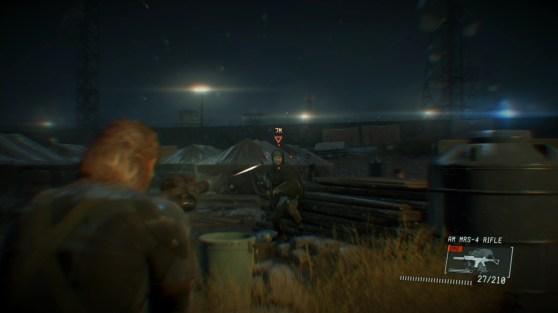 Metal Gear Solid V: Ground Zeroes - night mission